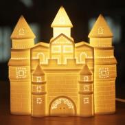 3D Ceramic Lamp Castle