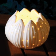 Ceramic Lit Lily
