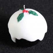 Christmas Pudding Candle