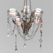 Cinderella Chandelier