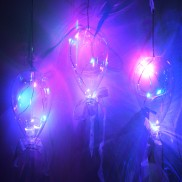 Clear Glass Hanging Balloon Light