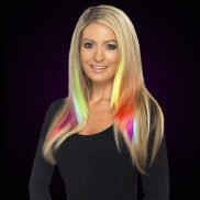 Clip-in Hair Neon Colour
