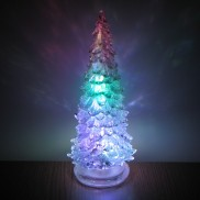 20cm Colour Change Crystal Christmas Tree