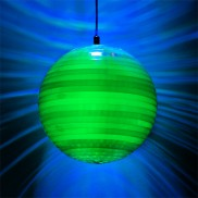 Colour Change Mirror Ball Pendant