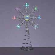 Colour Change Snowflake Tree Topper