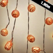 Battery Operated Copper Galore String Lights
