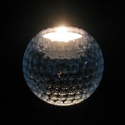 Crystal Golf Ball Tealight Holder