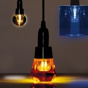 Real Crystal LED Light Bulbs