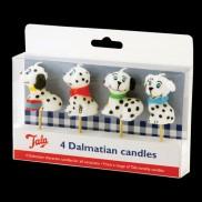 Dalmatian Candles (4 Pack)