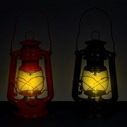 Dancing Flame LED Hurricane Lamp (Single)