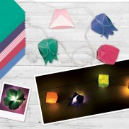 Design Your Own Origami Lanterns