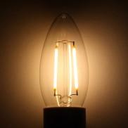 E14 2W LED Filament Bulb