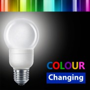 3W ES Colour Changing Bulb