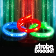 Fibre Optic Strobe Bracelets Wholesale