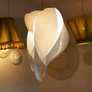 Flame Lampshade