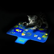Flashing Firefly Mat For Cats