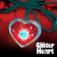 Flashing Glitter Hearts Wholesale