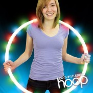 Light Up and Flashing Hoop