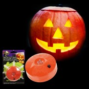 Halloween Flashing LED Pumpkin Light