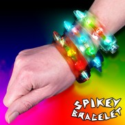 Flashing Spikey Bracelet