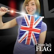 Flashing Union Jack Flag