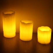 Flickering Flame Candles (3 Pack)