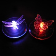 Floating Solar Dragonfly & Butterfly (Single)