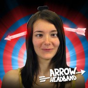 Flashing Arrow Headband