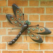 Glow Dragonfly Wall Art