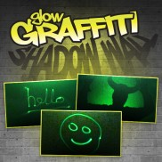 Glow Graffiti Shadow Wall