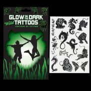 Glow in the Dark Wild Tattoos