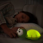 Gus Turtle Night Light Green