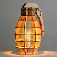 Hand Grenade Table Lamp (20109)