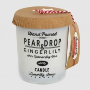 Hand Poured Pear Drop & Gingerlily Candle