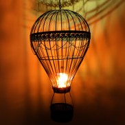 Hot Air Balloon Candle Holder (TJ0032)