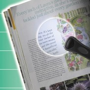 Illuminated Rimless Magnifier
