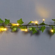 1.8m 40 LED Ivy Garland