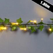 1.8m 40 LED Ivy Garland