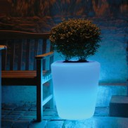 Large Illuminated LED Plant Pot