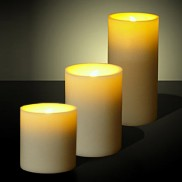 LED Candles with Flickering Light (3 Pack)
