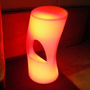LED Ergonomic Bar Stool