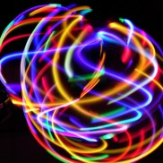 LED Festival Hula Hoops