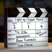 Light Up Clapperboard