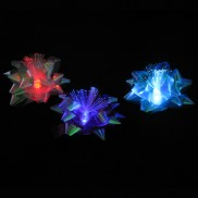 Light Up Fibre Optic Gift Bows (3 Pack)