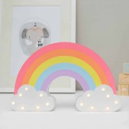 Light Up Wooden Rainbow