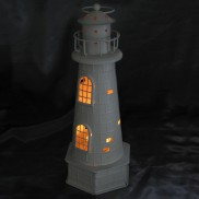 Lighthouse Candle Holder 34cm
