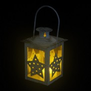 Small Metal Star Lantern