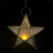 Metal Star Tealight Holder