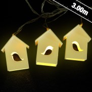 Mini Birdhouse Lights