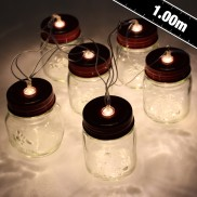 Mini Mason Jar Stringlights